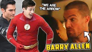 """¡EL NUEVO BARRY ALLEN! Trailer Análisis The Flash Superman """"Elseworlds"""" DCTV CROSSOVER"""