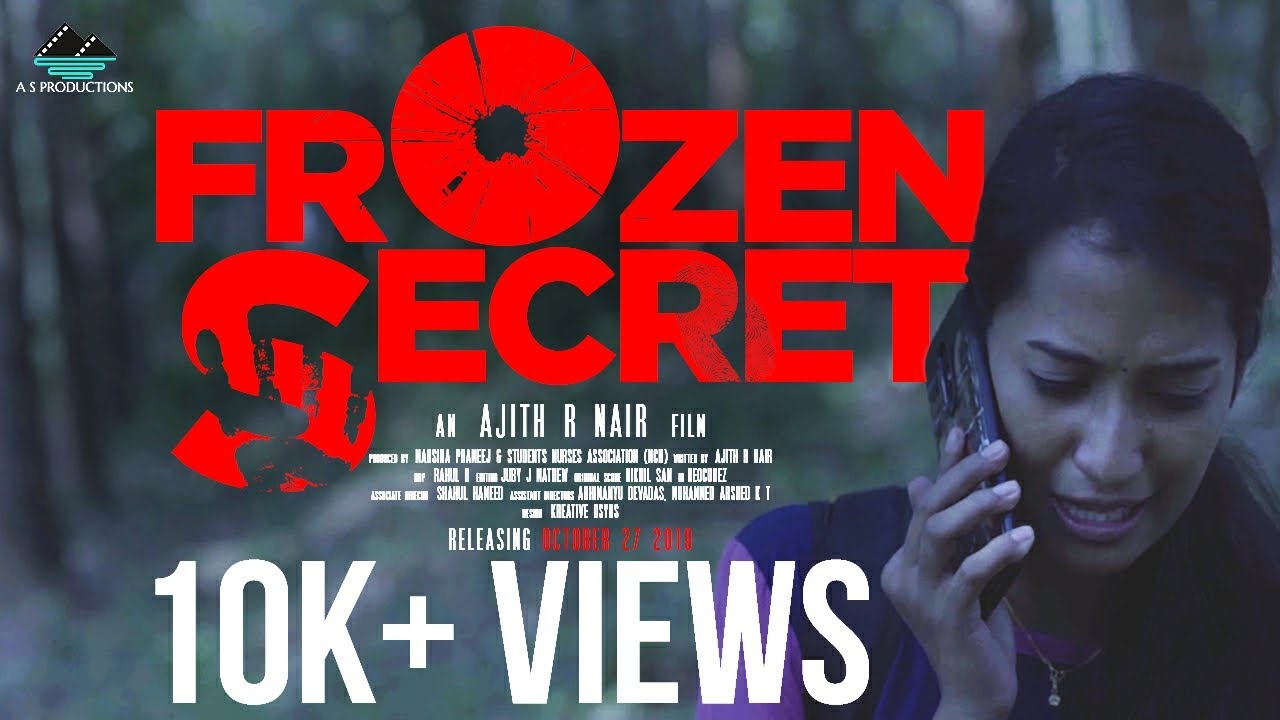 Frozen Secret | Malayalam Short Film | Ajith R Nair | Marsina Prameej & Student Nurses