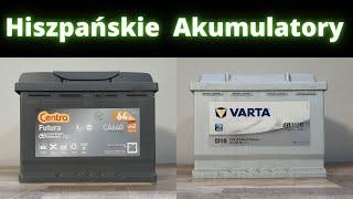 #VARTA v #EXIDE  Test porównawczy Hiszpańskich akumulatorów VARTA Silver 74Ah i #CENTRA #Futura 72Ah