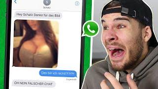 WhatsApp Chats die AUSVERSEHEN gesendet wurden.. 😂😳