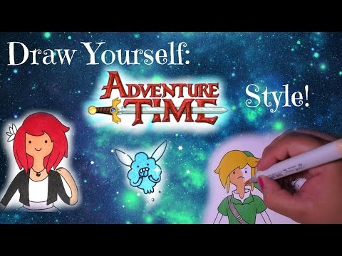 Draw Yourself Adventure Time Style! Male