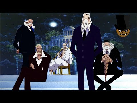 The Gorosei: ancient rulers of past millennium | the grand overseer - One Piece theory chapter 896