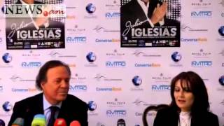 Julio Iglesias in Yerevan