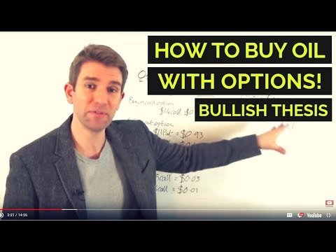 How to Buy Crude Oil with Options (BULLISH) 👆