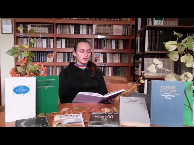 Изображение предпросмотра прочтения – ЕкатеринаГоловина читает произведение «Спит ковыль. Равнина дорогая…» С.А.Есенина