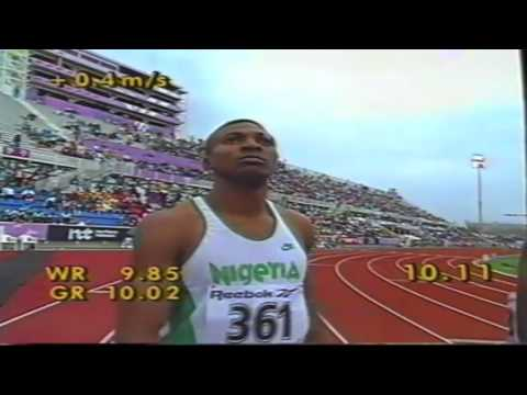 1994 Commonwealth Games Mens 100m Heats Semis and Final