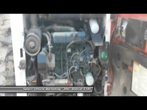 2007 Bobcat S185 DS9442LT36 - YouTube