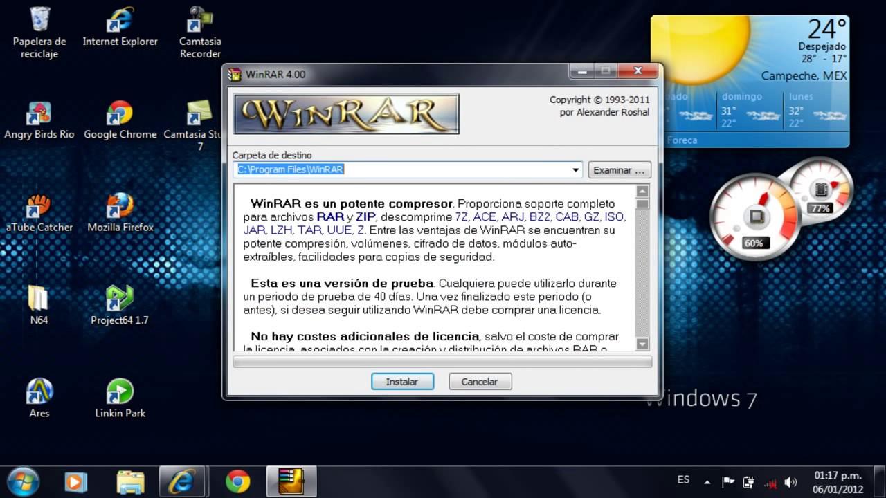 descargar ares para windows 7 professional 32 bits