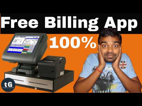 Free Billing Software for Retail Shop | Technical Guptaji