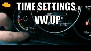 How to set clock VW e-UP - Jak ustawić godzinę w Volkswagenie E-up