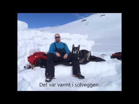 Isfiske på Saltfjellet. Vinter 2014.