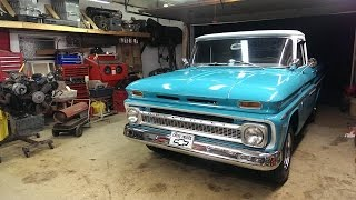1963 Chevy C10 Engine Swap