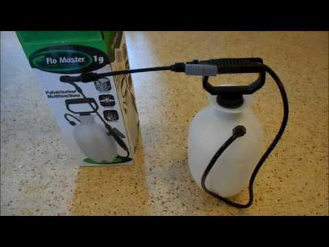 Flo-Master sprayer only sprays air - the fix, quick and