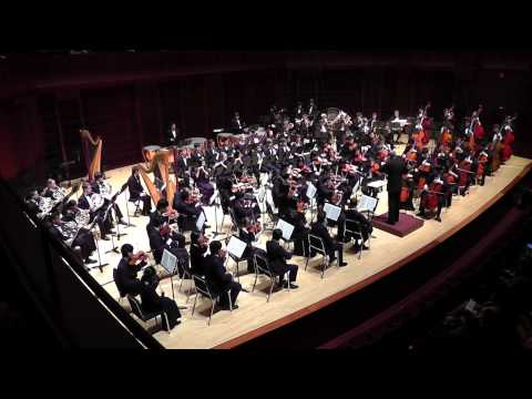 """Ride of the Valkyries"" from Die Walküre - Richard Wagner - Houston Youth Symphony [HD]"