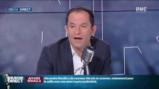 """Mission Sentinelle mobilisée samedi: échange houleux sur RMC entre Benoît Hamon et un """"gilet jaune"""""""
