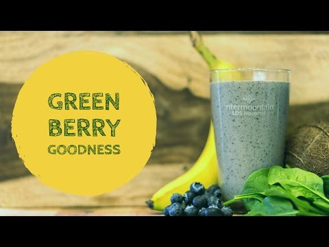 Green Berry Goodness Smoothie