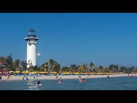 Harvest Caye Beach Lighthouse Zipline Norwegian Cruise Lines
