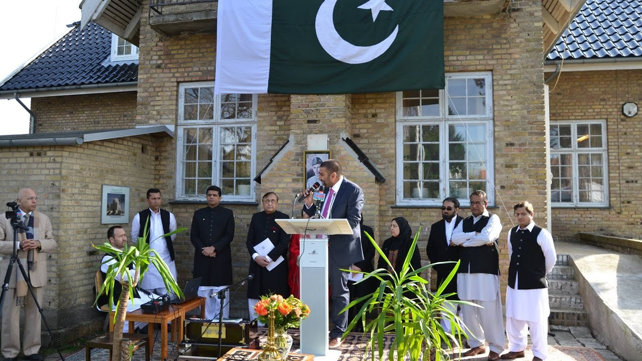 23 march 2017 Embassy of Pakistan in Copenhagen