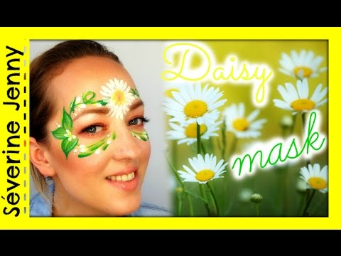 Maquillage Halloween Fleurs Make Up Face Painting Youtube