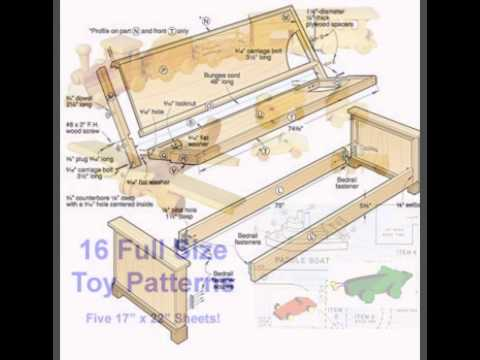 Free Outdoor Furniture Plans - Blanket Chest Plans - YouTube