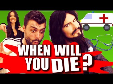 HOW LONG WILL YOU LIVE? - Irish People Take Age Test!!