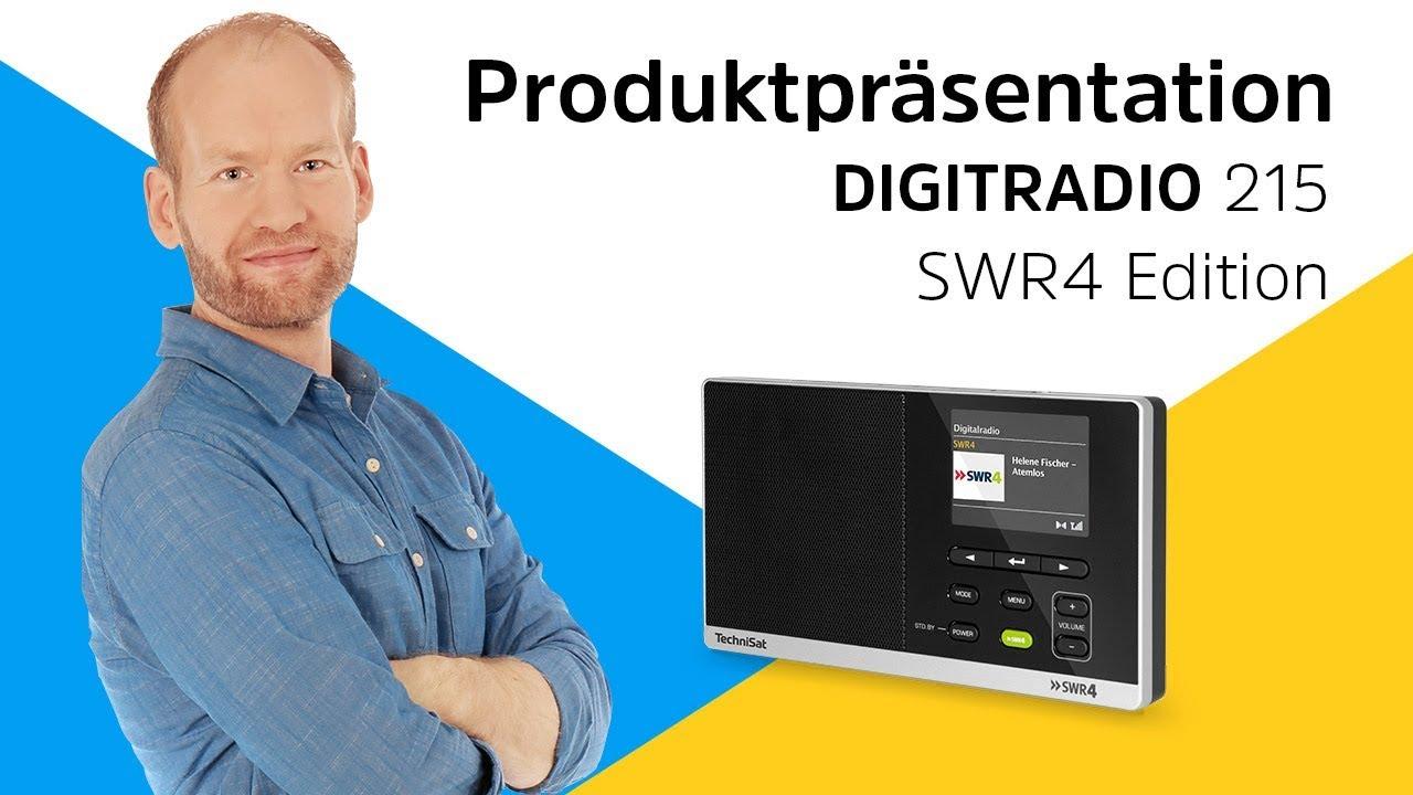Video: DIGITRADIO 215 SWR4 Edition | Für Fans von modernen Schlagern. | TechniSat