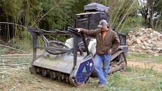 Residential Land Clearing in South Carolina | Edwin McCain | FAE Mulching Heads