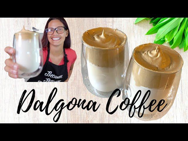 DOCTOR MAKES TikTok Whipped Coffee (Dalgona)