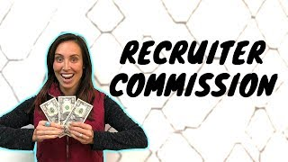 How much commission should a recruiter make?