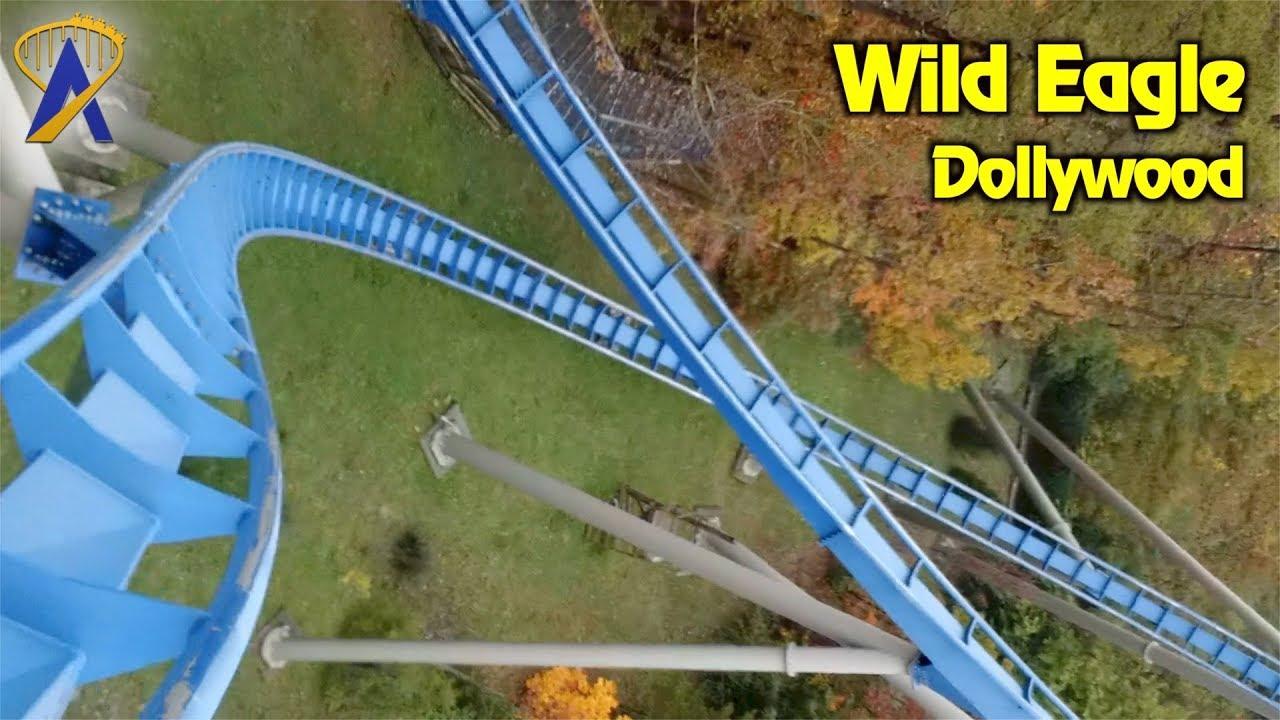 Wild Eagle Roller Coaster POV at Dollywood
