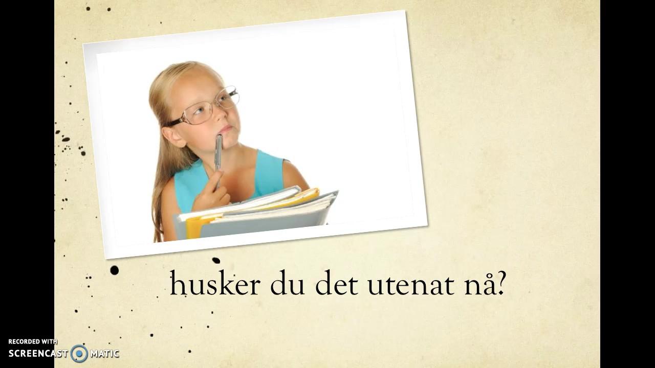 Tyske verb (flipped classroom)