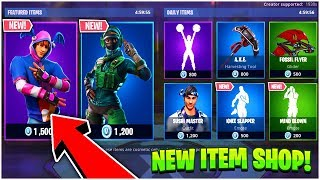 Fortnite ITEM SHOP Update NEW VERGE SKIN SHOWCASE- 15th January 2019  (Fortnite Item Shop Live)