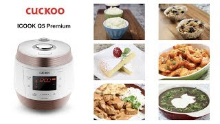 Korean Cuckoo Multi-cooker, ICOOK Q5 Premium Review (쿠쿠 멀티쿠커)  Aeri&#39s Kitchen