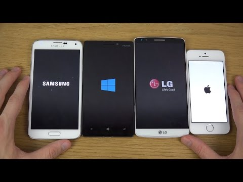 Nokia Lumia 930 Vs. IPhone 5S Vs. LG G3 Vs. Samsung Galaxy S5 - Which Is Faster?