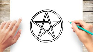 How to Draw a Pentagram Step by Step for Kids