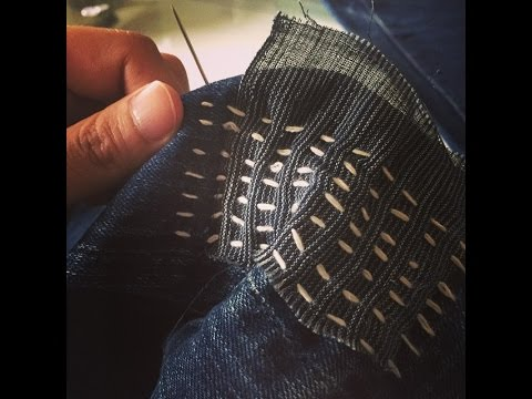 Sashiko Denim Repair