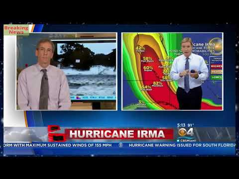 Breaking News,Acting Director Ed Rappaport Provides Latest Info On Hurricane Irma