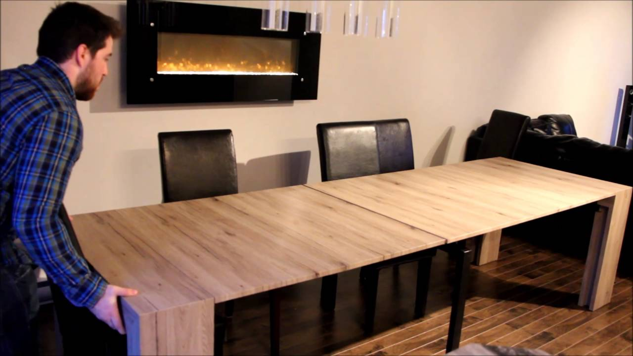 The New Transformer Table The Smart Way Of Living YouTube - Transformer table canada
