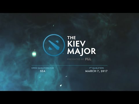 DAY 2 - SEA Open Qualifier 1 - Kiev Major - Coverage by RevivaL TV