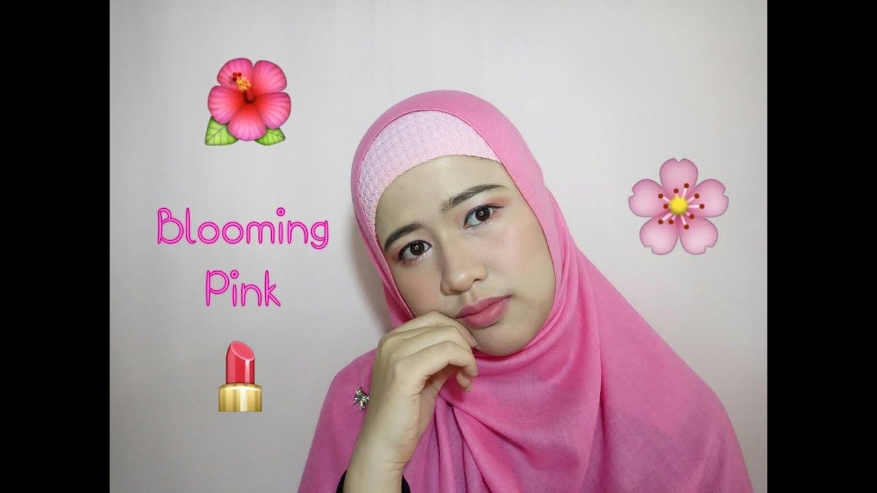 Blooming Pink Makeup Tutorial Make Over Trivia Eyeshadow Indian Summer