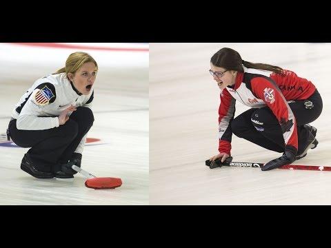 CURLING:  - World Junior Chps 2016 - Women Final - USA v CAN