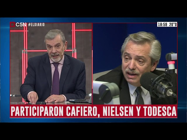 El candidato presidencial Alberto Fernández se reunió con funcionarios del FMI