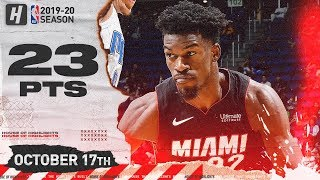 Jimmy Butler NASTY Full Highlights Heat vs Magic 2019.10.17 - 23 Points, 6 Ast, 6 Reb!