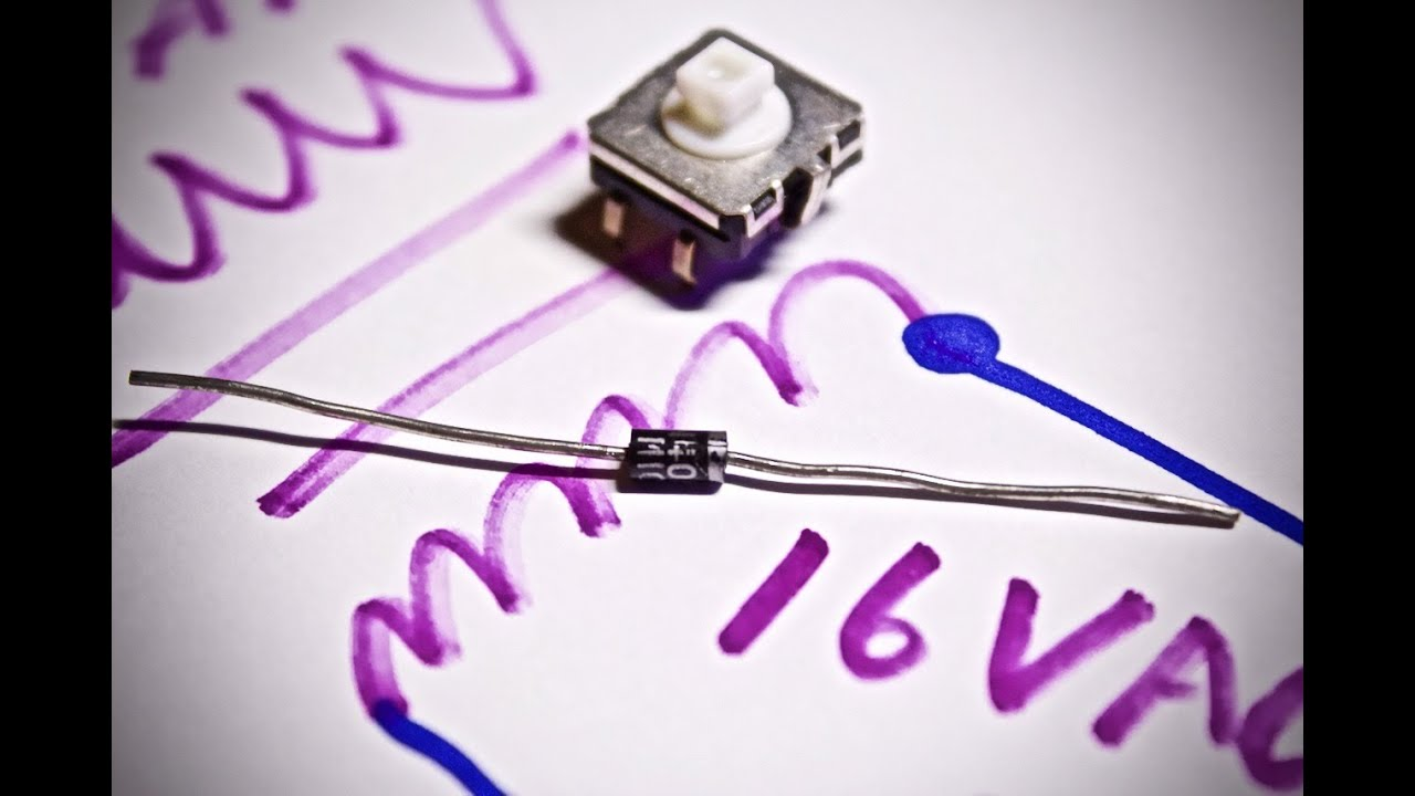 Purpose Of The Diode In Doorbell Circuits Test Circuit