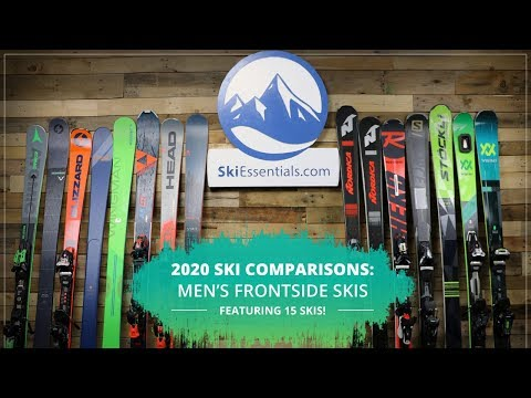 2020 Men's 72 To 86 Mm Frontside Ski Comparison