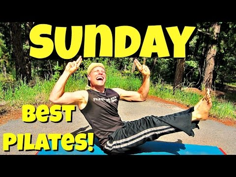 Sunday (final!) - The Ultimate Pilates Workout Class - 7 Day Pilates Challenge #7daypilateschallenge