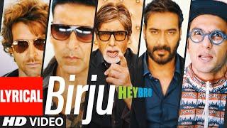 'Birju' Lyrical Video Song | Mika Singh, Udit Narayan | Ganesh Acharya, Prem Chopra | T-Series