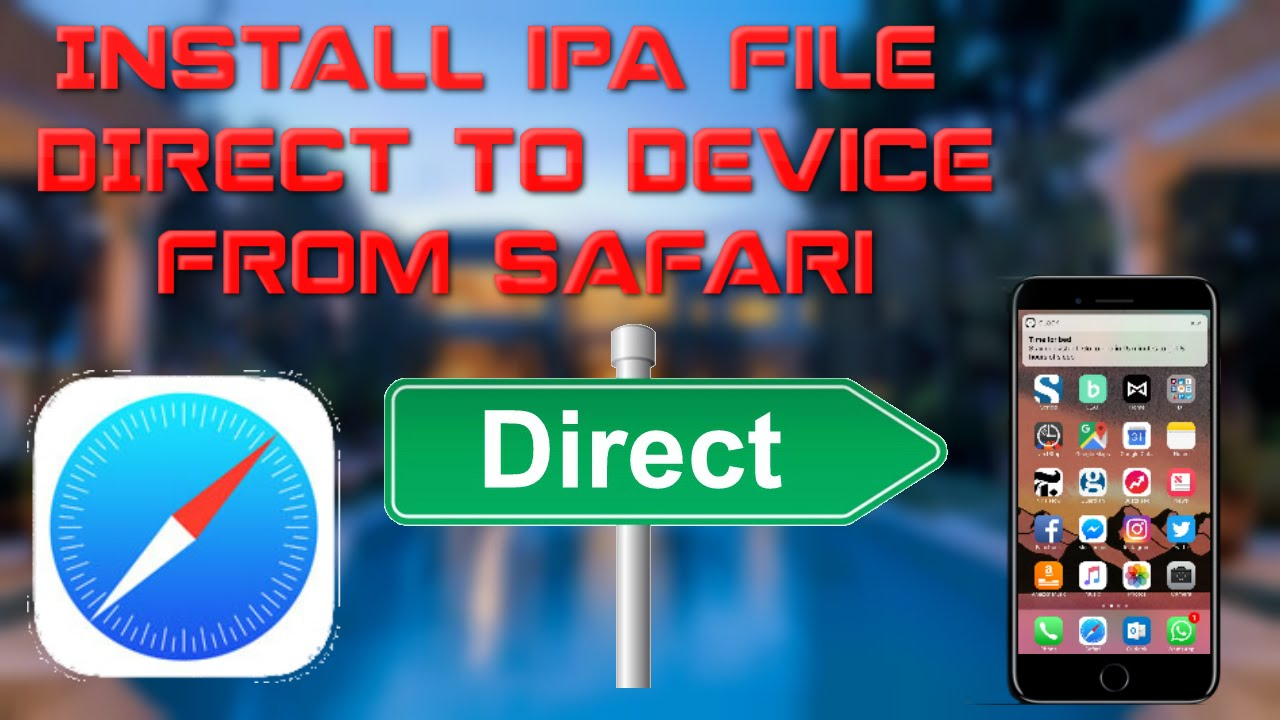 How to install app. Ipa files directly on iphone, ipod touch or.