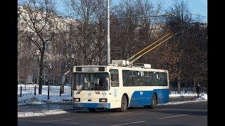 Фото Поездка на троллейбусе БКМ 20101 №1829 №70 Братцево Белорусский вокзал