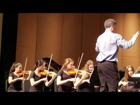 Agoura High School  Symphony Orchestra - 2018 Dvorak Symphony no. 9 Concert